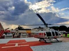 Gauteng Helicopter Emergency Medical Services: Netcare 2 a specialised helicopte… 119980429 3449216778432767 2722175242831242722 o