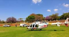Gauteng Helicopter Emergency Medical Services: Netcare 2 a specialised helicopte… 121626755 3522956917725419 6073105188569501319 o
