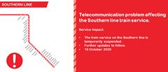 #SouthernLineCT #ServiceAlert 122141766 5211642005528010 7814769344914737795 o