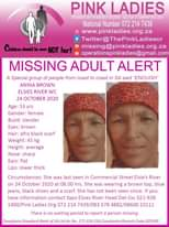 #MissingMinorsPinkLadies   Missing: Elsies River WC Anina Brown 53 yrs 24 Octobe… 122690559 4459516037454155 7320622158946940055 o