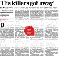 Three important cold cases mentioned in this article in The Citizen newspaper to… 123068464 3697684956929551 6518792222829280488 o
