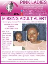 #MissingMinorsPinkLadies   Missing: Jeppe GP Zimiso Beauty Dube 28 yrs 19 Septem… 123128166 4468401736565585 2931263594558229042 n