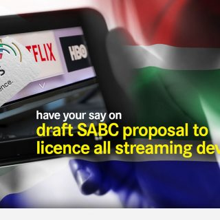 Have your say on SABC streaming licence SABC licence DearSA 320x320