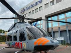 Gauteng Helicopter Emergency Medical Services: Netcare 3 a specialised helicopte… 123682963 3580617775292666 5515955845026792568 o