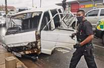 Four Injured In Taxi Crash: Verulam – KZN  Four people were injured in a collisi… 124769707 3804826339535932 8633651437416303525 o