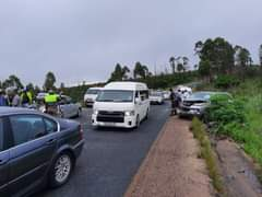 ER24 on-scene this morning in White River, north of Nelspruit, for a rear-end co… 126479958 3602027606525244 5780020093140987661 o