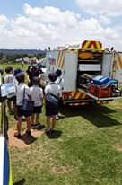 Netcare 911 with local Emergency Services were invited to St Stithians College i… 127578337 3639831716037938 3614986328918690907 n