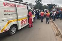 10 December 2020  CIT Robbery, Tongaat – 1 Dead 3 wounded.  IPSS Medical Rescue … 130907689 4880639925344602 6375869401271799286 o