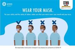 Be a hero and wear your mask correctly, protecting you, your family, friends and… 132117336 5497556683603206 8829946378311090993 o