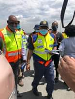 Transport Minister @MbalulaFikile will today lead a road safety campaign from Um… 132119334 3547590535323045 5664108248738280264 o