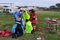 KwaZulu-Natal: At 17H00 Tuesday afternoon Netcare 911 responded to a collision a… 133703843 3724600477561061 3847204051398708053 o