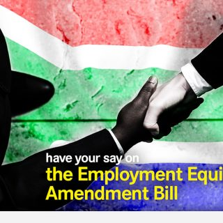 Have your say on the Employment Equity Amendment DearSA Employment Equity Bill 320x320