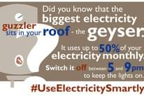 Did you know that the peak period for electricity in South Africa is between 17:… 135536387 4375823682444342 675884876115034394 o