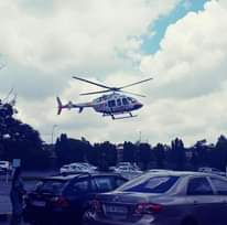 Gauteng HEMS: Netcare 2 a specialised helicopter ambulance was activated earlier… 135625294 3741683312519444 1672089594641538937 n