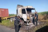 Truck Guttered In Fire:  Inanda – KZN   A Volvo truck was completely destroyed b… 140042851 3991961300822434 8677172589804042587 o