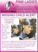 #MissingMinorsPinkLadies   Missing: Khutsong GP Katlego Sathikge 17 yrs 1 Decemb… 141785639 4838294892909599 3836080631804450182 o