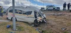 Eleven people were injured in a taxi collision along the N2 near Jakes Gerwel on… 142167105 3768689176525752 1900092814622673721 o