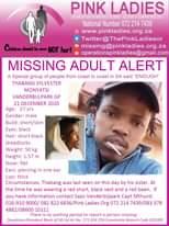 #MissingMinorsPinkLadies   Missing: Vanderbijlpark GP Thabang Sylvester Monyatsi… 142414405 4846802022058886 9064786555566667768 o