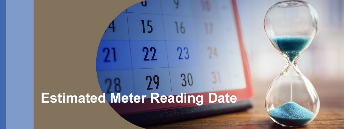 Estimated meter reading date 2EstimatedMeterReadingDate
