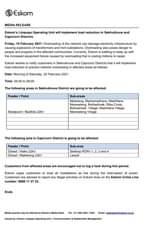 Eskom Load Reduction Notice  Date: 19 February 2021  #EskomFreeState #EskomKZN #… 151694914 4507914389235270 9000652229646371671 o