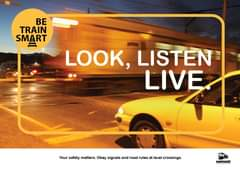 #BeTrainSmart  How can you help us ? Educate motorists that they need to adhere … 157447644 5837220079636863 895256446029853391 o