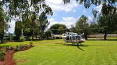 Gauteng HEMS: Netcare 2 a specialised helicopter ambulance has been activated fo… 160165564 3925203907500716 4958922826371320691 o