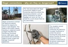 Illegal connections are not safe as they are usually done by unqualified people … 162808960 4597346876958687 1783806643523080205 o