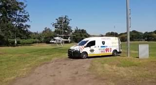 KwaZulu-Natal HEMS: A Netcare 911 helicopter ambulance has been activated for an… 170916845 748275152539037 2204486804856453037 n