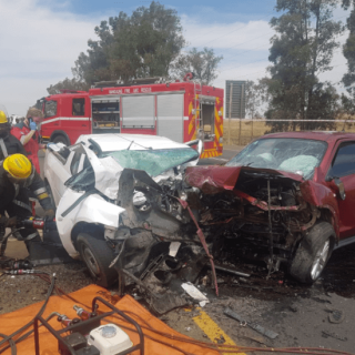 [MANDELAVIEW] – Head-on collision leaves one dead, another injured. – ER24 MANDELAVIEW     Head on collision leaves one dead another injured