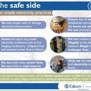 Join the safety side and say NO to unsafe electricity practices. #ElectricitySaf… 56189786 2746855745341152 1329064929528905728 n 320x320