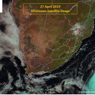 Afternoon satellite image (27 April 2019) – Great weather over most of South Afr… 58656870 1007216116148378 3378194698328866816 o 320x320