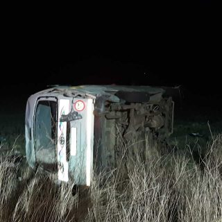 [R57] – Taxi rollover leaves sixteen injured. – ER24 R57     Taxi rollover leaves sixteen injured 320x320